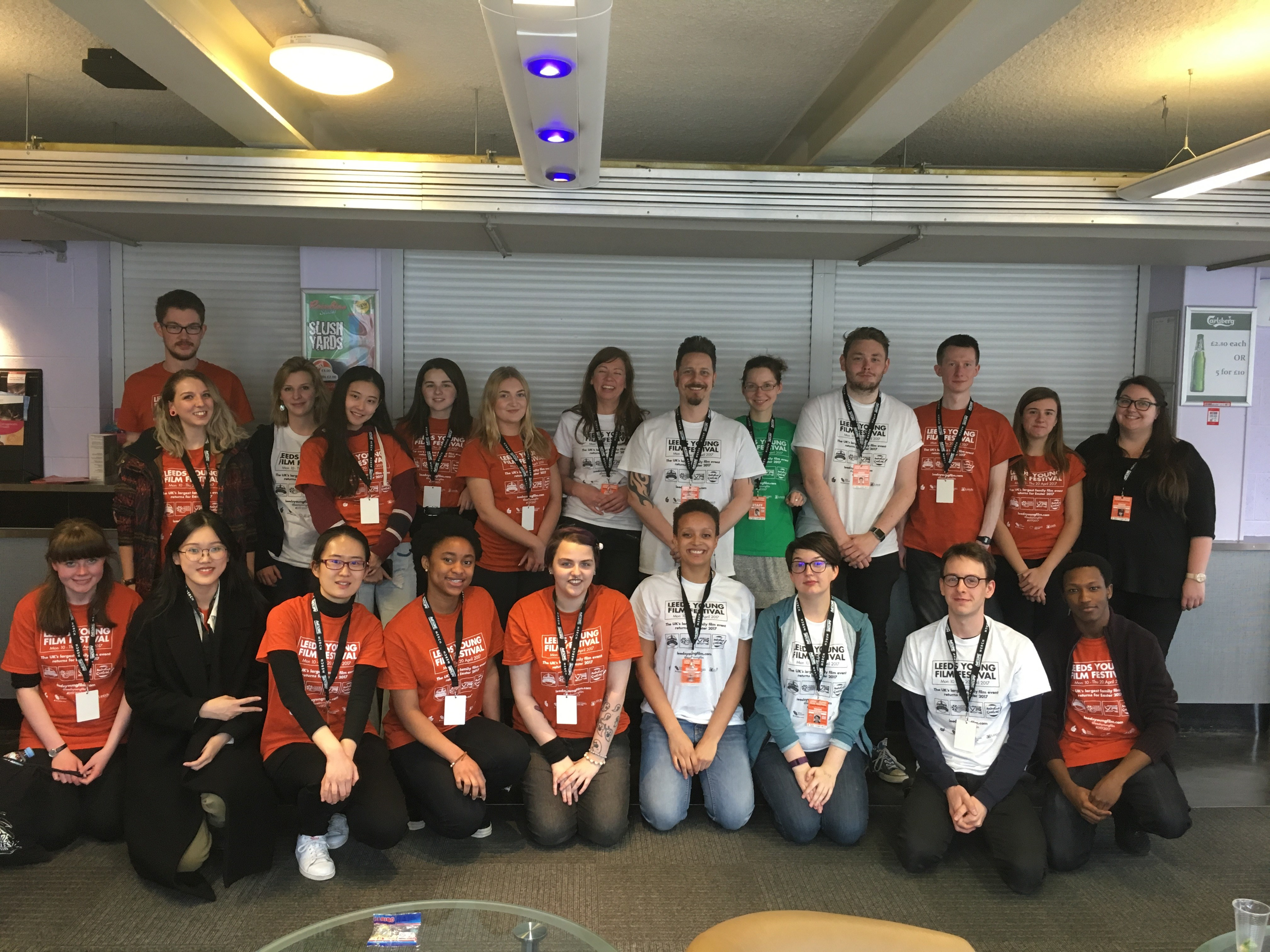 Volunteer at Leeds Young Film Festival 2018