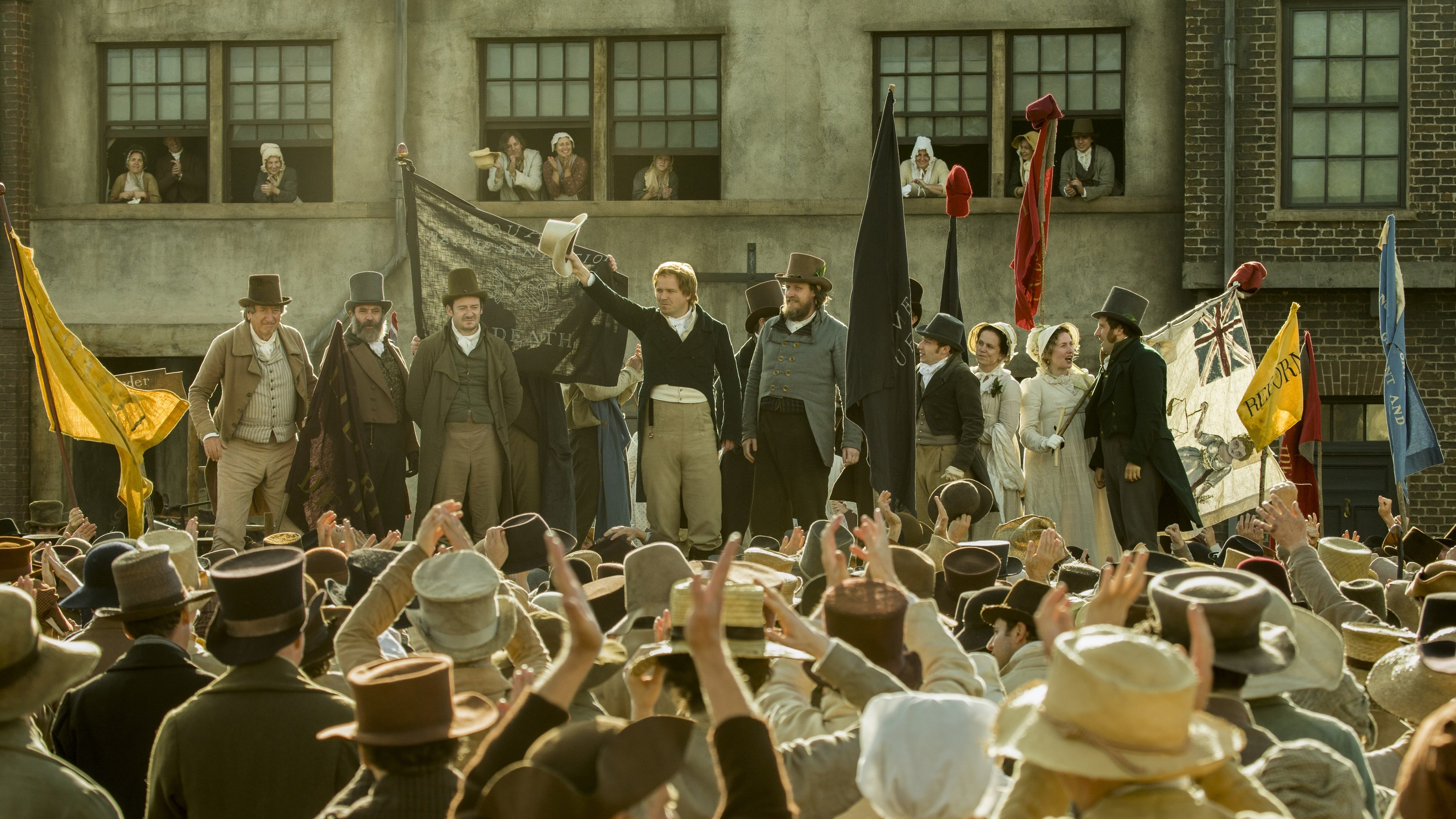 Peterloo + Mike Leigh Q&A