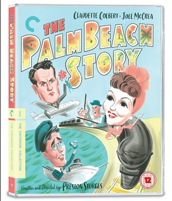 The Palm Beach Story DVD Cover