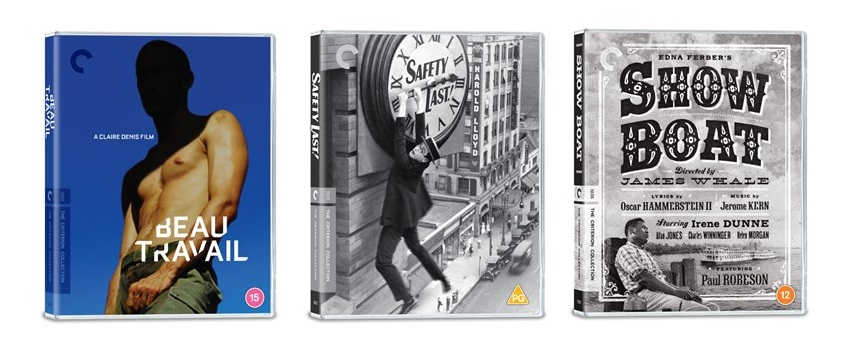 The Criterion Collection September Release Blu-ray covers
