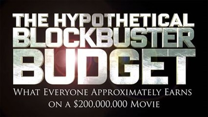 The Hypothetical Blockbuster Budget title card