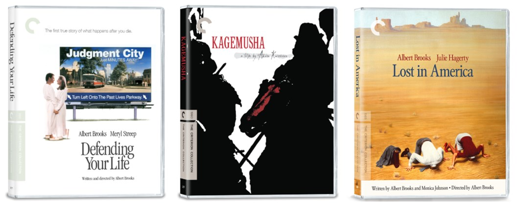 DVD Covers for March 2021 Criterion Competition